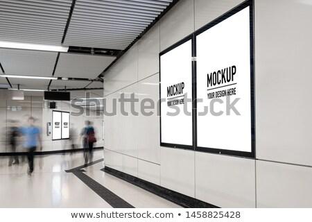 зале комнату путешествия городского метро подземных Сток-фото © Paha_L
