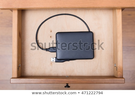 interior of hard drive stock photo © backyardproductions