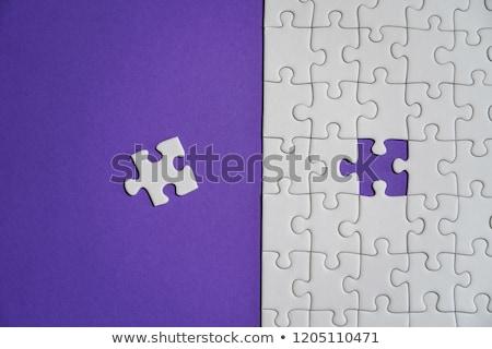 отсутствующий · головоломки · белый · бизнеса · решения - Сток-фото © devon