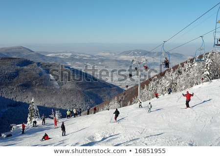 Beskydy in winter, Czech Republic Stock photo © phbcz