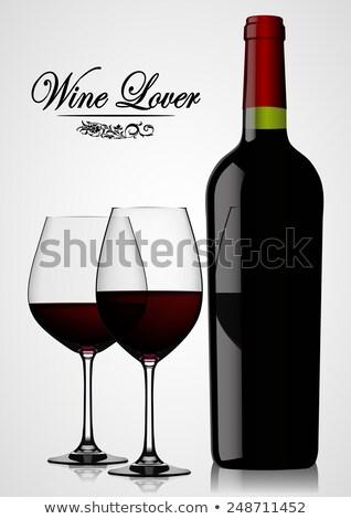 Wine bottles part 2 Stock photo © lkeskinen