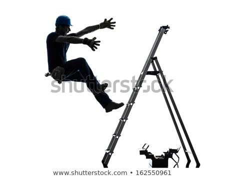 建設作業員 · 下がり · ワーカー · 産業 · 生活 · 仕事 - ストックフォト © photography33
