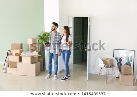 A couple moving their belongings Stock photo © photography33