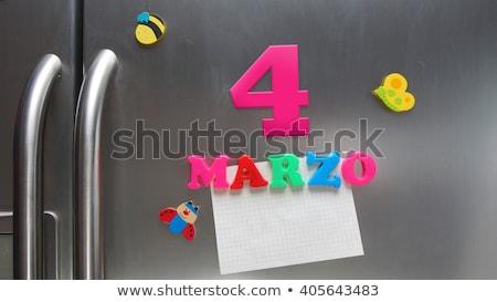 Levélpapír négy színek katicabogár ahogy klasszikus Stock fotó © experimental