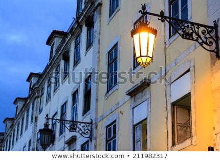 Lisboa cuadrados Portugal calle Foto stock © ribeiroantonio