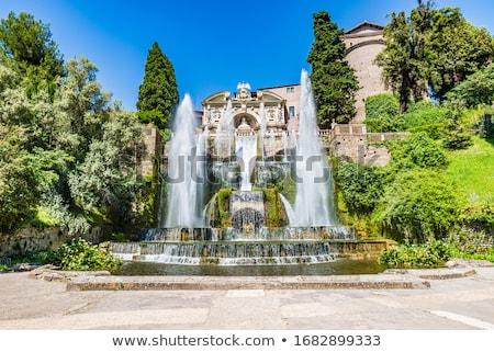 噴水 アレクサンダー広場 広場 ベルリン ドイツ 高い ストックフォト © claudiodivizia