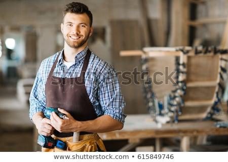Portrait of a carpenter Stock photo © photography33