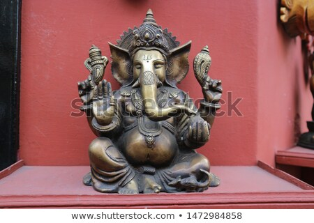 Statuette of the god - Ganesh. India, Udaipur Stock photo © pzaxe