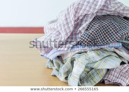 Creased Striped T-shirt Stock photo © filipw