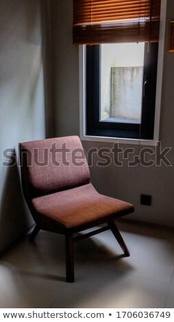 Brown antigue sofa in the room Stock photo © dashapetrenko