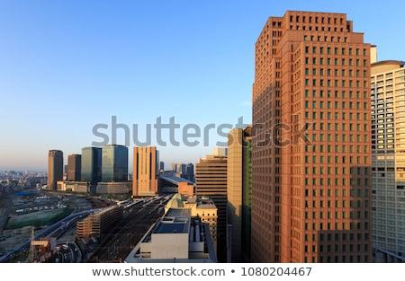 Osaka · cidade · centro · da · cidade · denso · linha · do · horizonte · distrito - foto stock © yoshiyayo