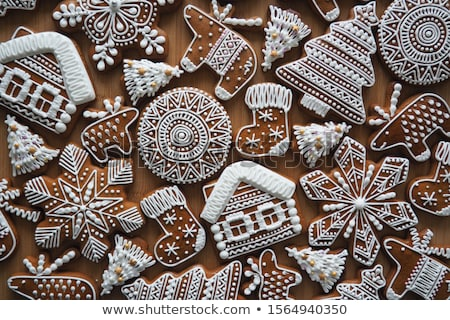 Mézeskalács orosz karácsony fából készült zárt pogány Stock fotó © fanfo