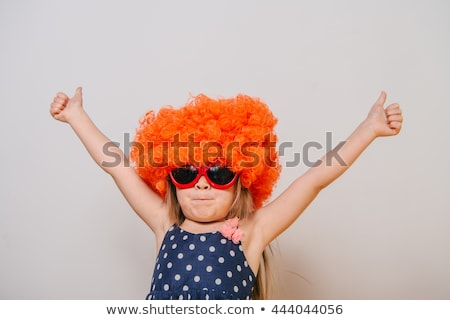 Orange Wig Stock photo © stevanovicigor