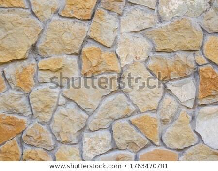 Kopfsteinpflaster Hintergrund alten verwitterten Textur Stock foto © olandsfokus