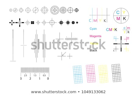 Printing marks Stock photo © Suljo