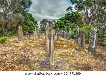 Port tasmanie Australie historique cimetière monde Photo stock © roboriginal