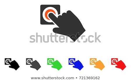 зеленый · вектора · икона · кнопки · интернет · веб - Сток-фото © rizwanali3d