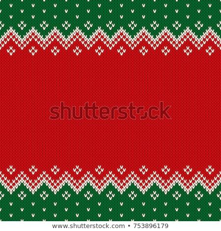 Vetor natal sem costura projeto fundo Foto stock © alexmakarova