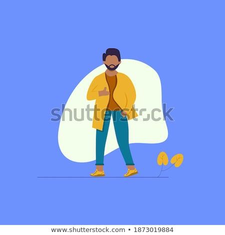 Semplice uomo indossare formale illustrazione Foto d'archivio © bluering