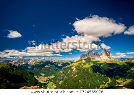 группа пейзаж красоту горные синий рок Сток-фото © Antonio-S
