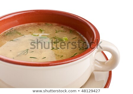 lentil with carrot and meat stock photo © m-studio
