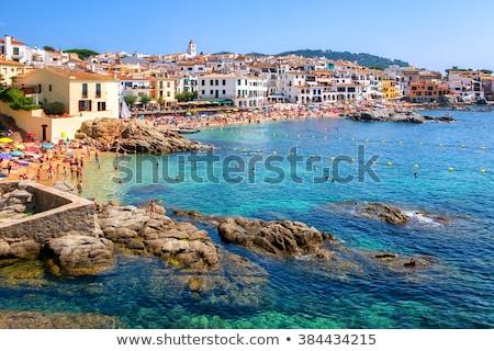 Beautiful bay in Costa Brava in Spain Stock photo © digoarpi