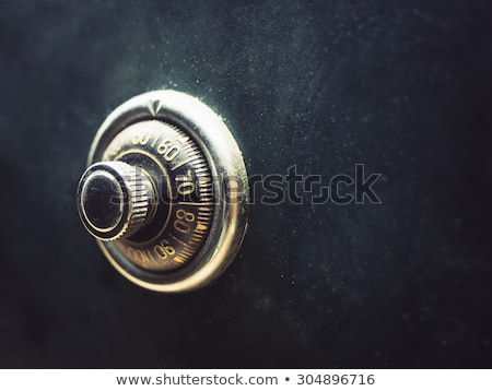 Vintage safe Stock photo © boggy