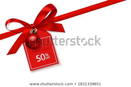 Xmas Surprises on Winter Discounts Season, Vector Stock photo © robuart