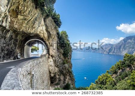 út · part · Olaszország · híres · festői · nyár - stock fotó © neirfy