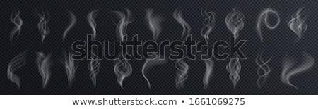 Bulut simgesi yalıtılmış şeffaf eğim bulutlar Stok fotoğraf © cammep