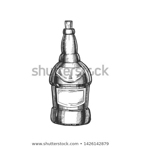 бутылку Cap вектора чернила Сток-фото © pikepicture