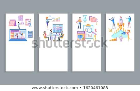 Software business proposta analisi strumenti crescere Foto d'archivio © robuart