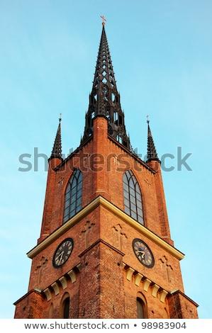 教会 · 台無しにする · 島 · 古い · 建物 · 屋外 - ストックフォト © borisb17