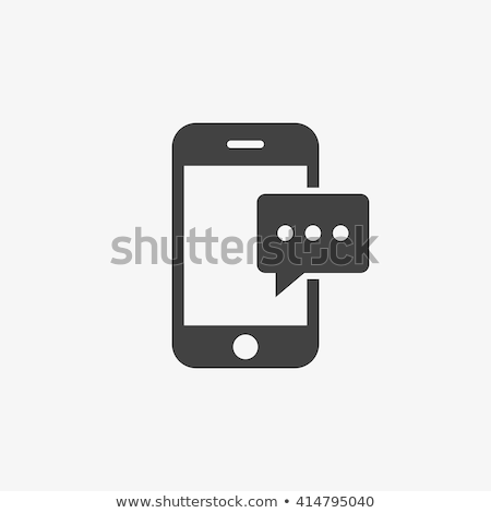 Mobile message icon Stock photo © sifis