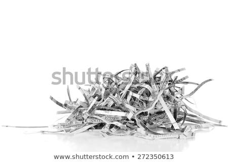 Banknotes In Shredder Stock photo © albund