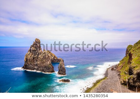 Rock formation of Ribeira da Janela at Madeira island, Portugal Stock photo © boggy