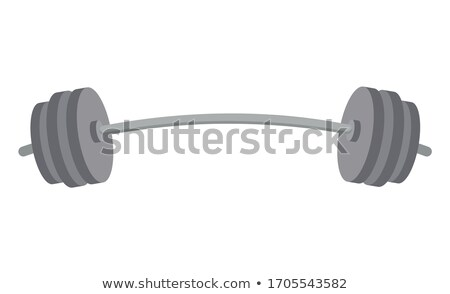 Barbell Heavy Instrument for Weightlifters in Gym Stock photo © robuart