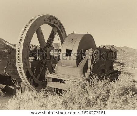 pantser · plaat · abstract · ontwerp · achtergrond · industriële - stockfoto © bobkeenan