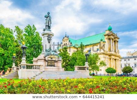 katedral · görüntü · kule · görmek · şehir - stok fotoğraf © tiero