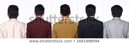 Side view of Glossy suits isolated Stock photo © Arsgera