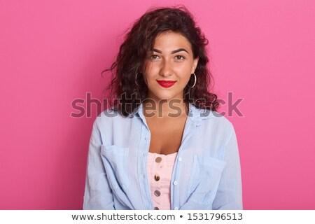 Stok fotoğraf: Kız · vektör · güzel · mayo · yalıtılmış · kadın