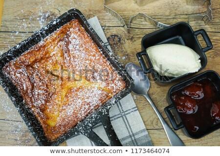 Traditional Finnish pancakes. Stock photo © maisicon