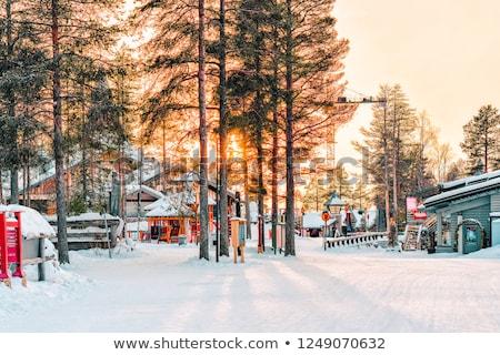Santa's office in the Arctic Stock photo © RuslanOmega