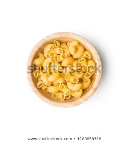 Uncooked macaroni Stock photo © photography33