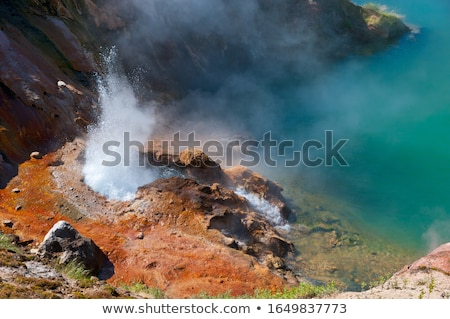 гейзер парка Соединенные Штаты воды природы Сток-фото © pedrosala