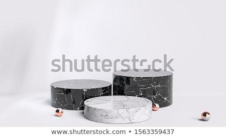 Granit top yalıtılmış beyaz doku arka plan Stok fotoğraf © Leonardi