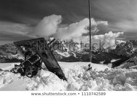 первый Мир войны расположение пещера альпийский Сток-фото © Antonio-S