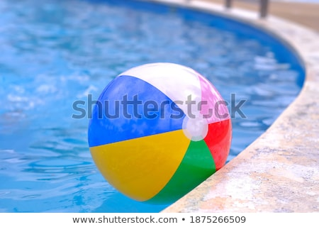 still life beachball in summer on the beach vacation Stock photo © juniart