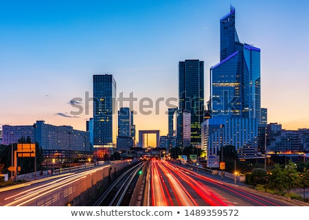 Business skyscrapers. La Defense, Paris, France Stock photo © photocreo