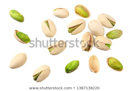 pistachio isolated stock photo © m-studio